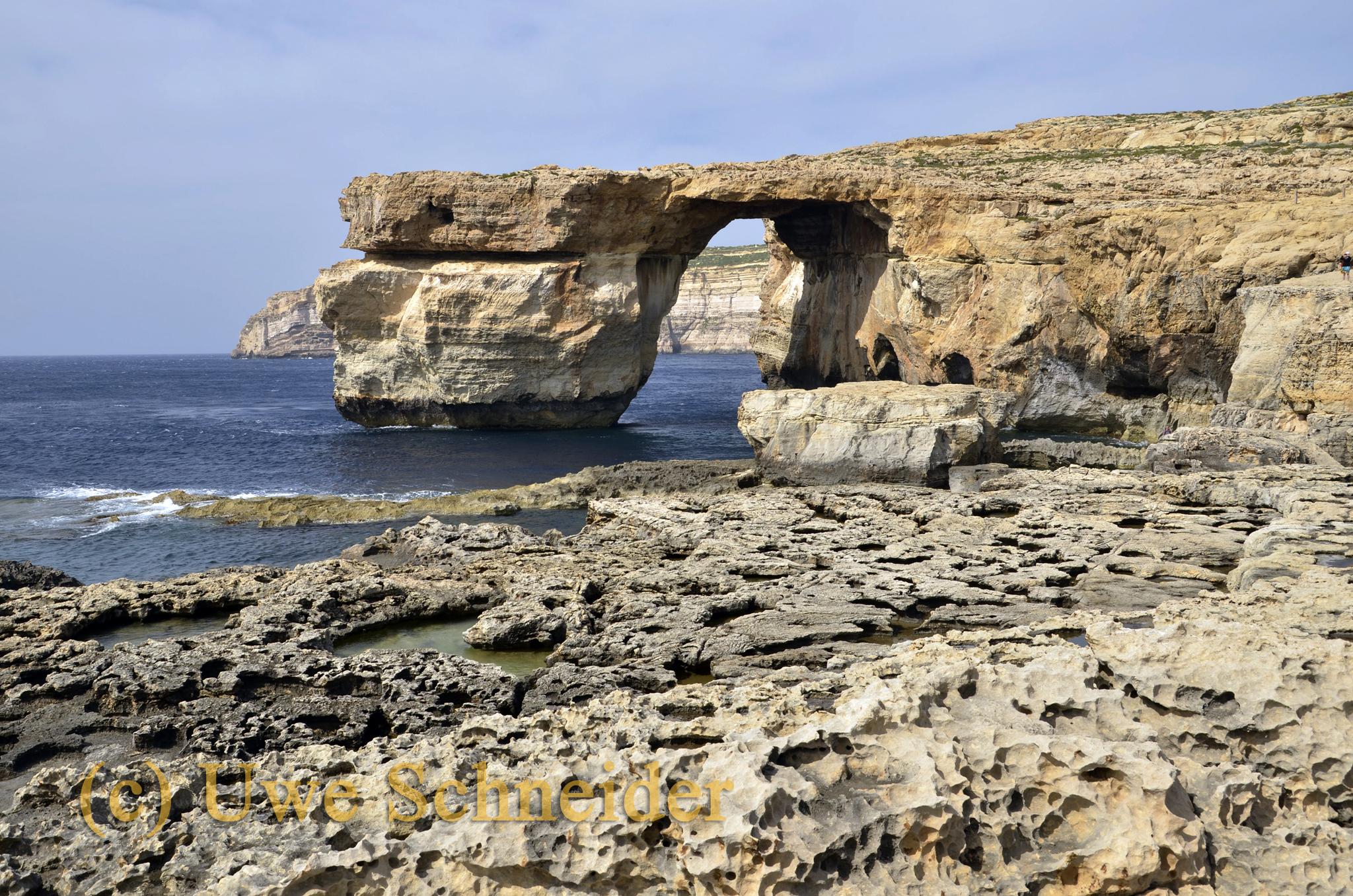 Azure Winodw, Gozo
