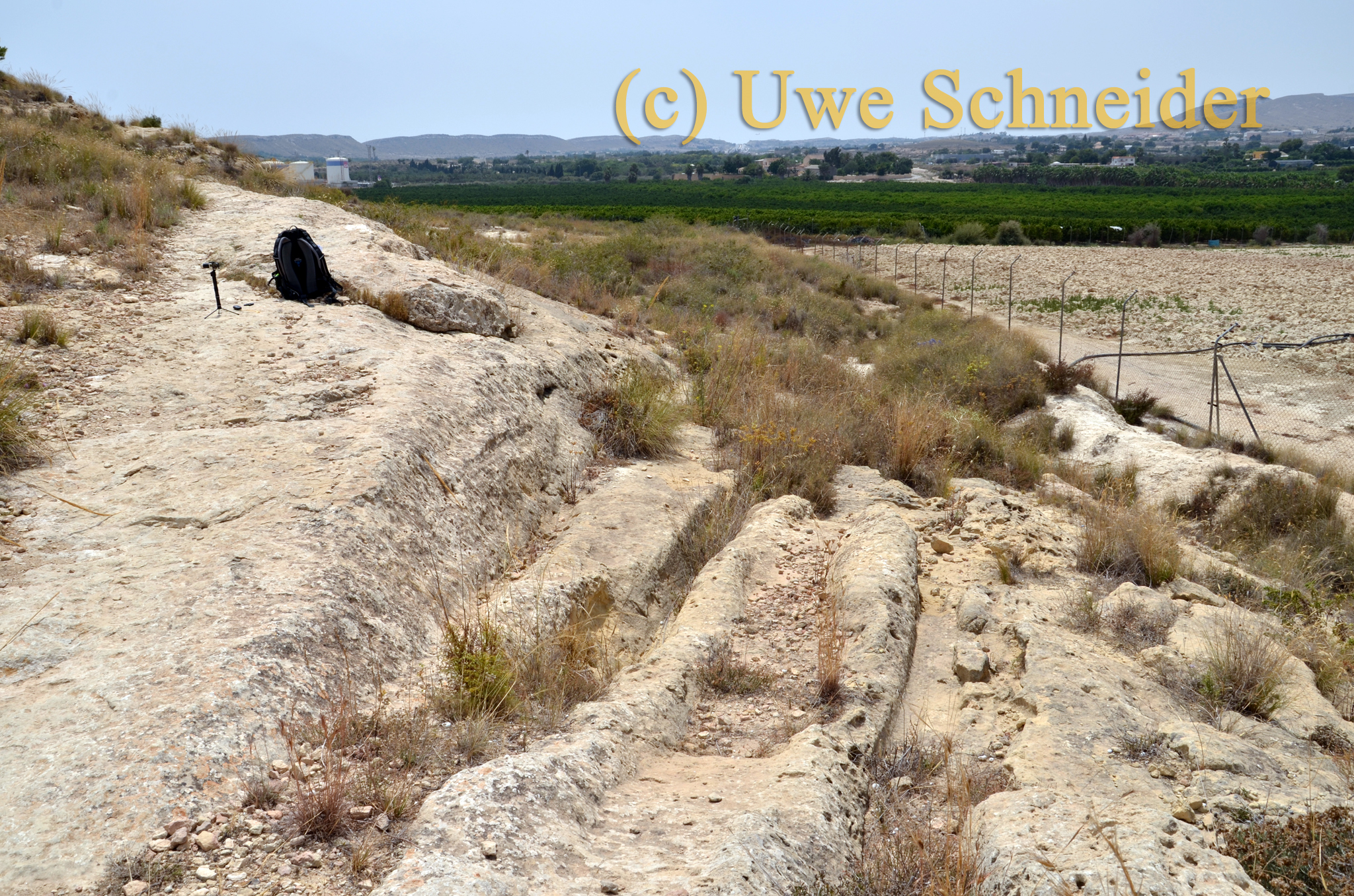 Cart-Ruts bei Alicante
