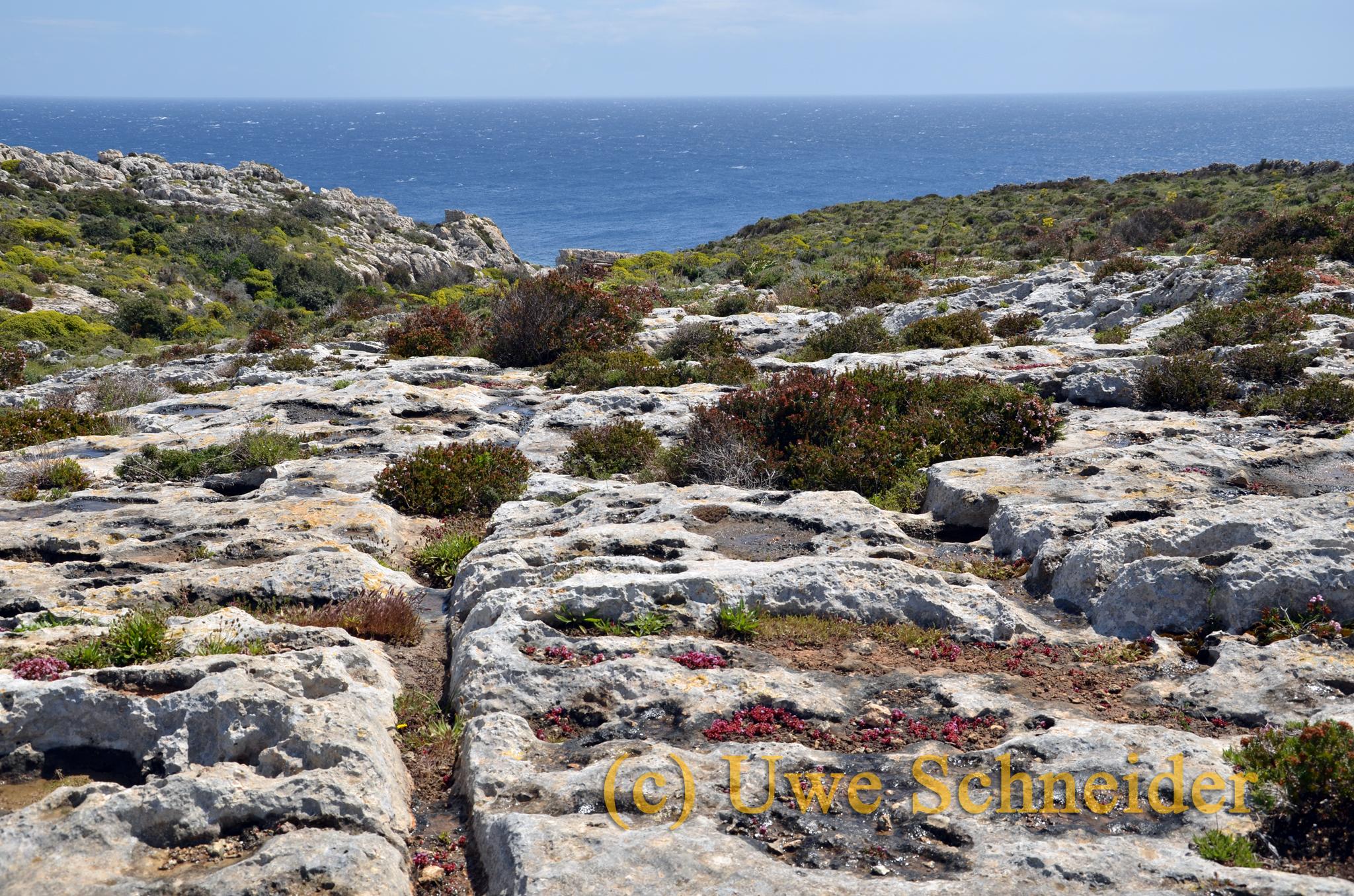 Cart-Ruts auf Gozo