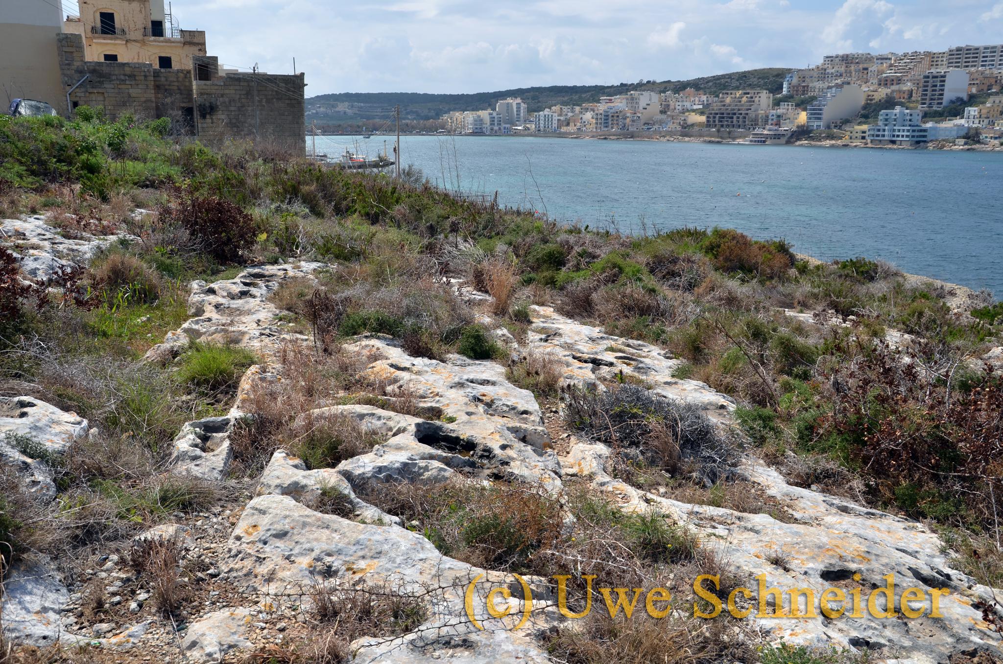 Cart-ruts in San Pawl il-Baħar
